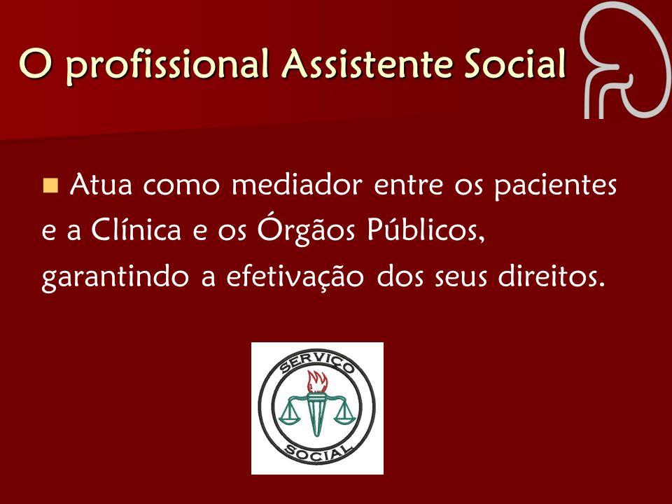 O profissional Assistente Social