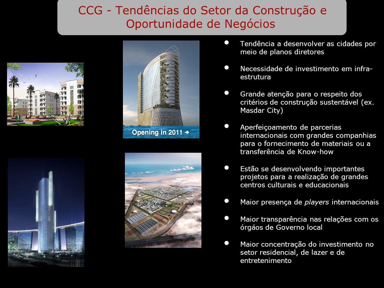 CCG - Tendências do Setor da Construção e Oportunidade de Negócios