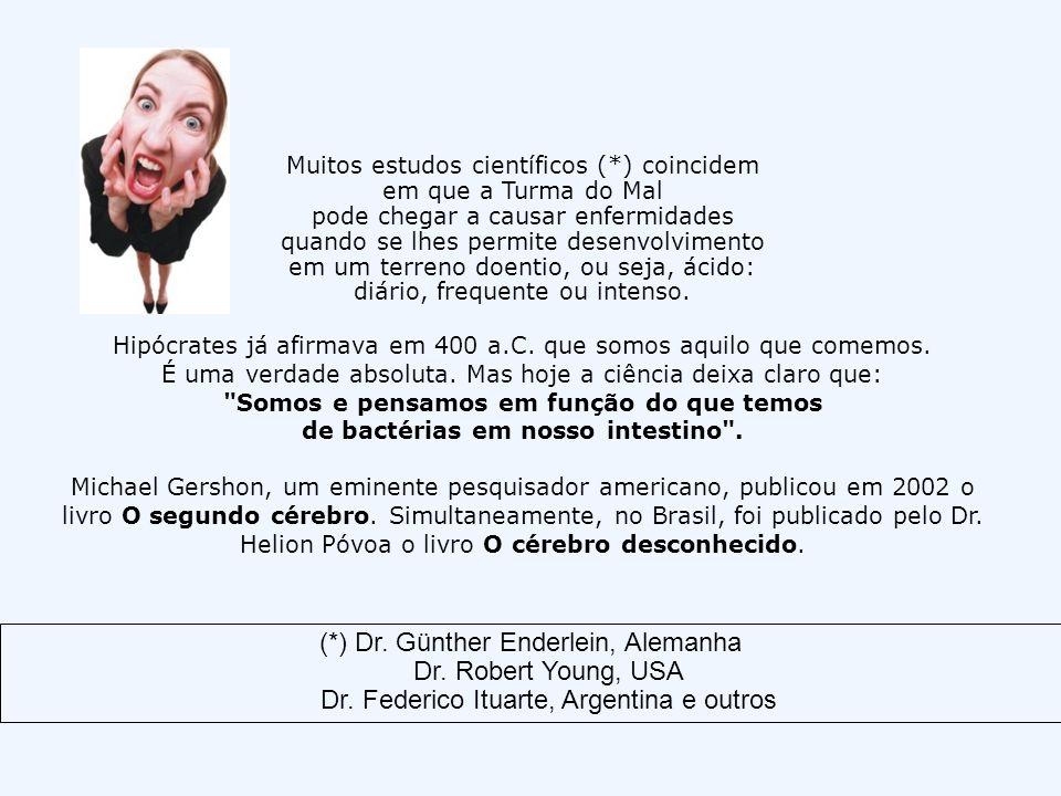 (*) Dr. Günther Enderlein, Alemanha Dr. Robert Young, USA