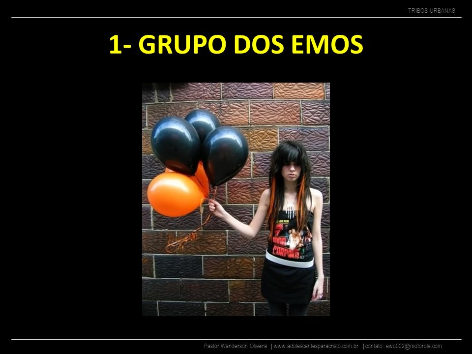 1- GRUPO DOS EMOS
