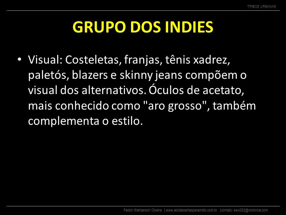 GRUPO DOS INDIES