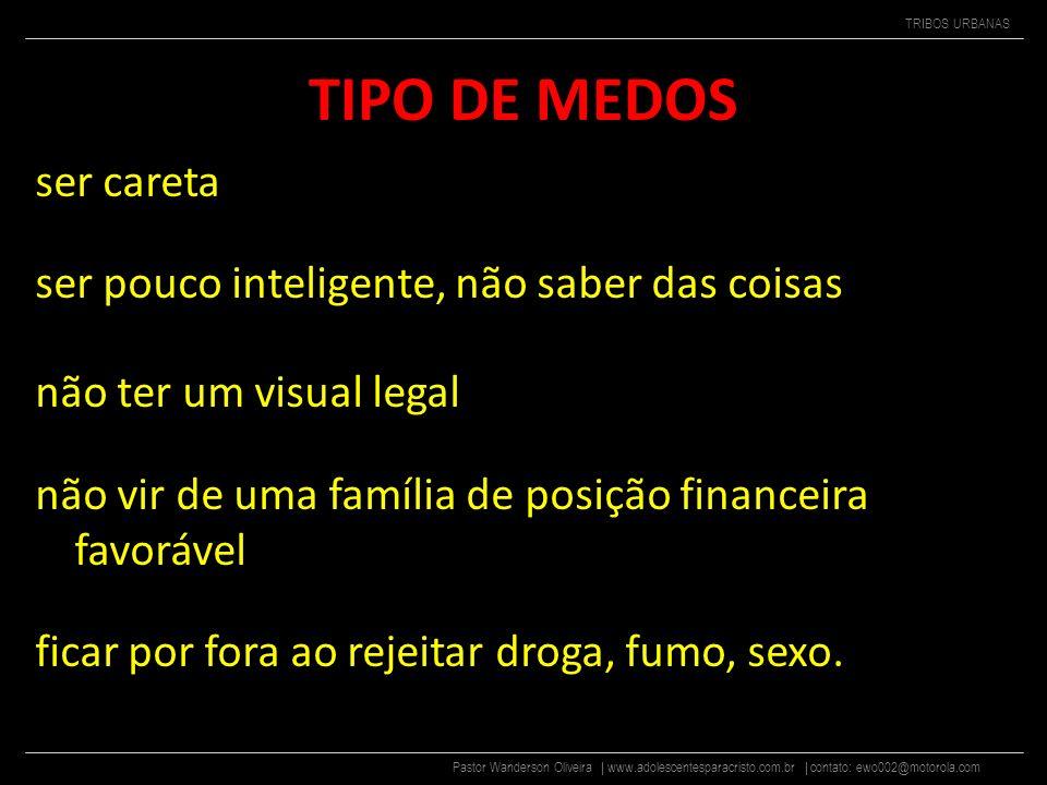 TIPO DE MEDOS