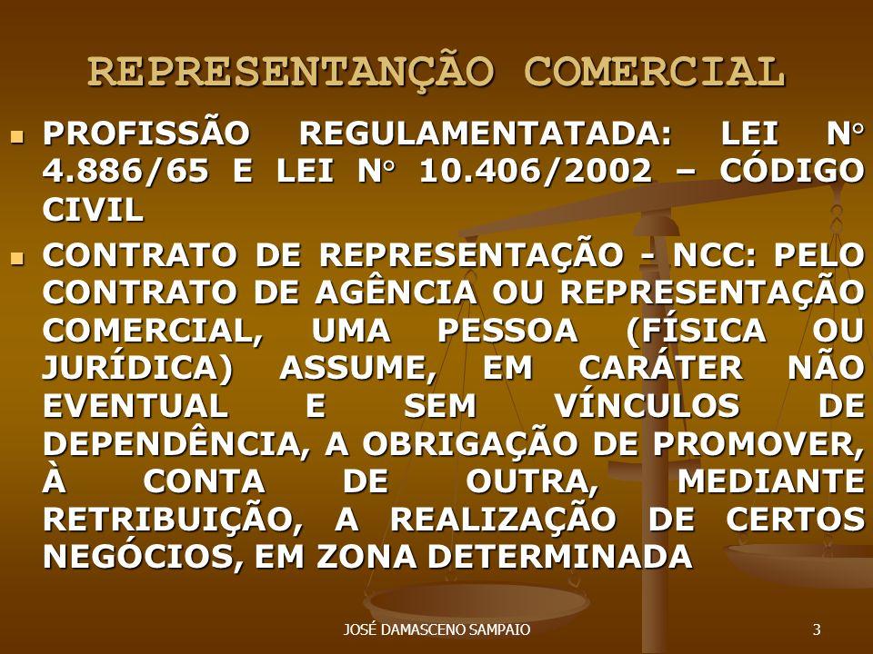 REPRESENTANÇÃO COMERCIAL