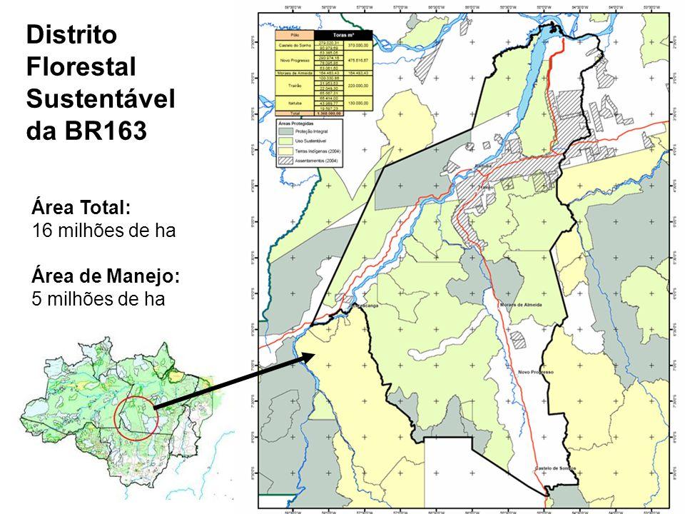Distrito Florestal BR 163 Distrito Florestal Sustentável da BR163
