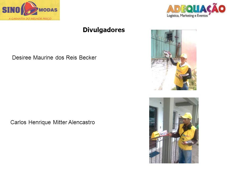 Divulgadores Desiree Maurine dos Reis Becker