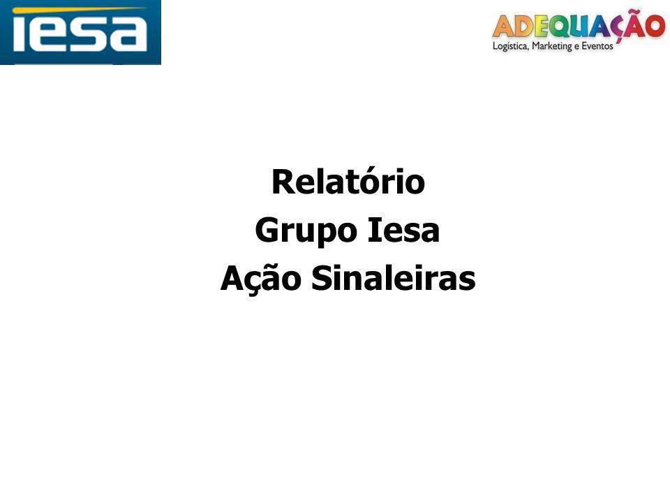 Relatório Grupo Iesa Ação Sinaleiras