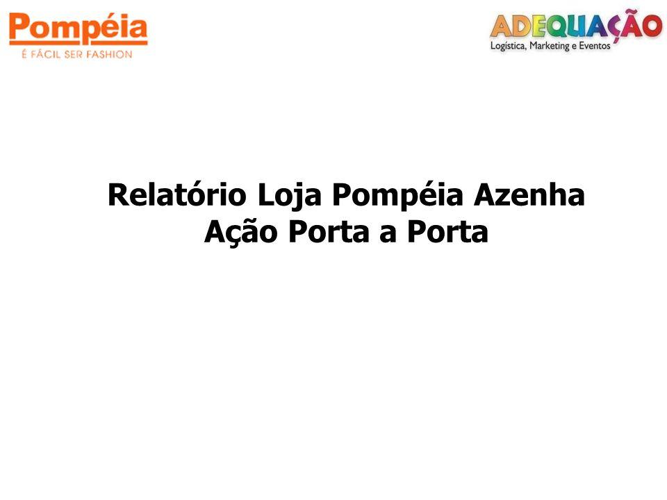 Relatório Loja Pompéia Azenha