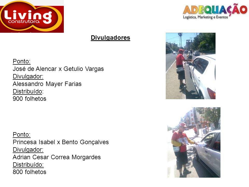 Divulgadores Ponto: José de Alencar x Getulio Vargas. Divulgador: Alessandro Mayer Farias. Distribuído: