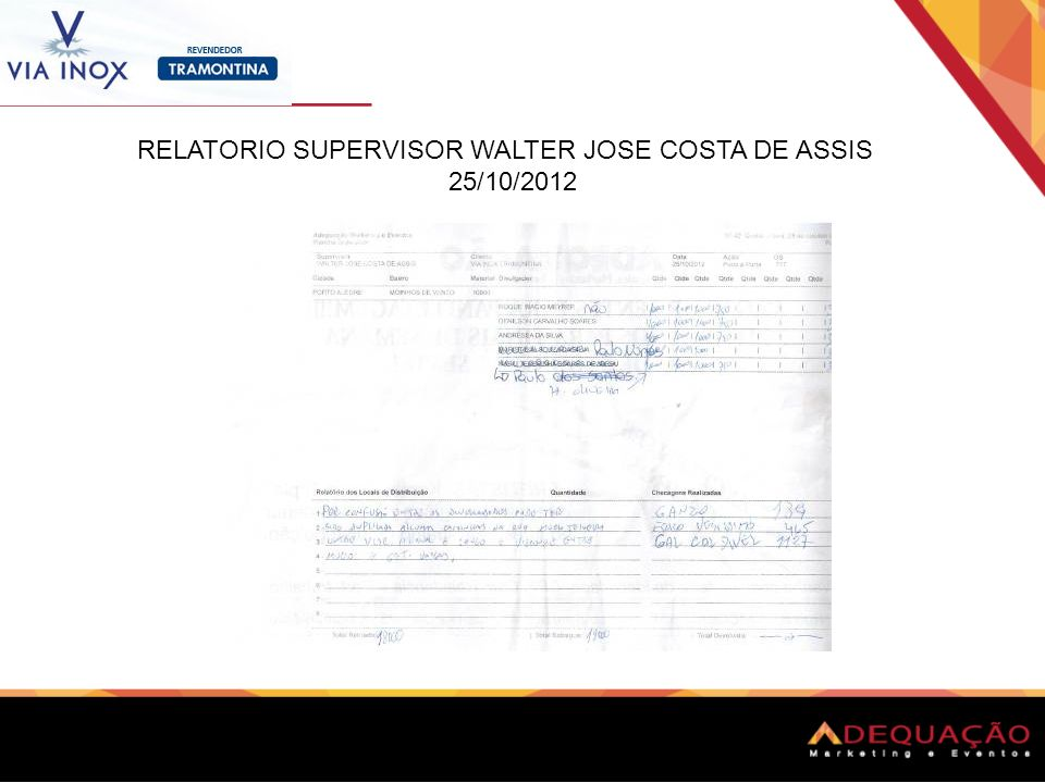 RELATORIO SUPERVISOR WALTER JOSE COSTA DE ASSIS