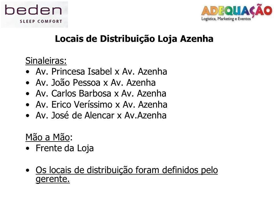 Locais de Distribuição Loja Azenha