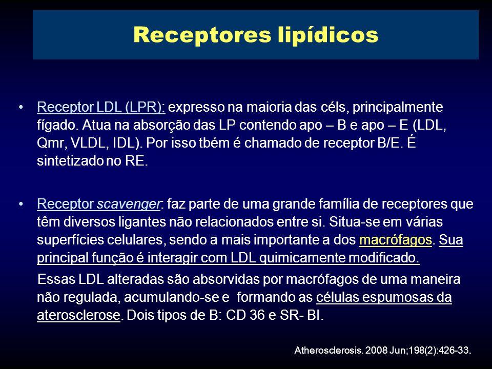 Receptores lipídicos