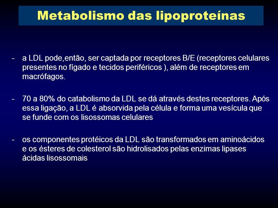 Metabolismo das lipoproteínas
