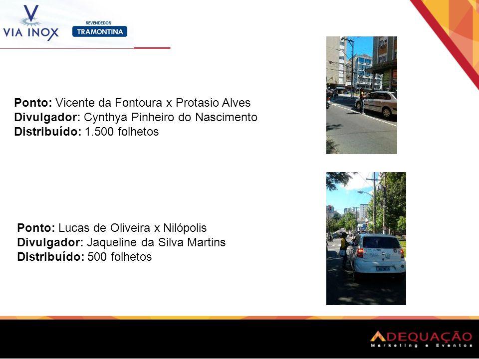 Ponto: Vicente da Fontoura x Protasio Alves