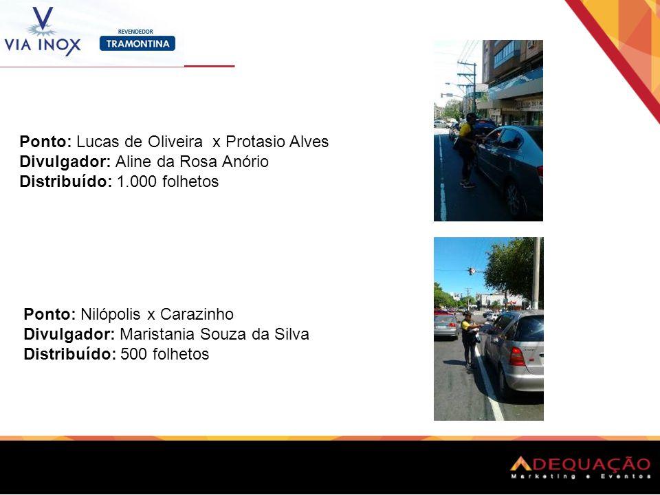 Ponto: Lucas de Oliveira x Protasio Alves