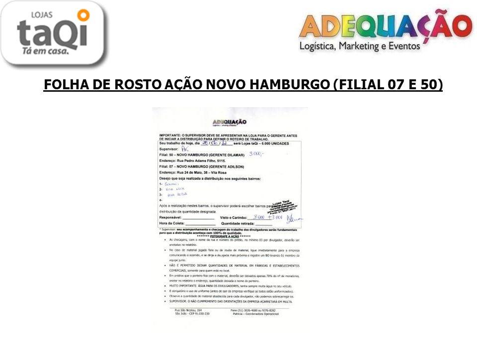 FOLHA DE ROSTO AÇÃO NOVO HAMBURGO (FILIAL 07 E 50)