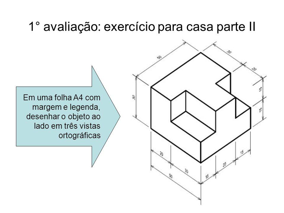 1° avaliação: exercício para casa parte II