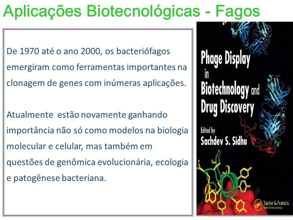 Aplicações Biotecnológicas - Fagos