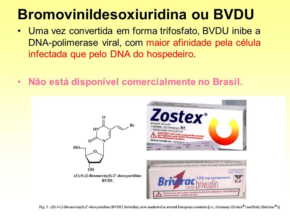 Bromovinildesoxiuridina ou BVDU