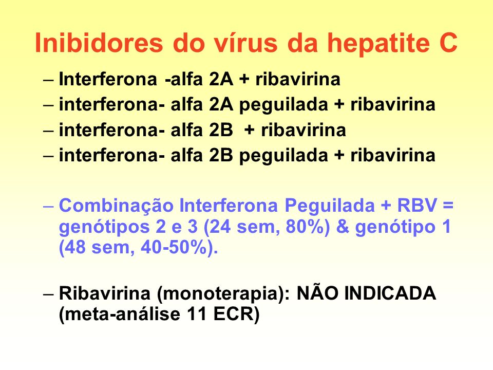 Inibidores do vírus da hepatite C