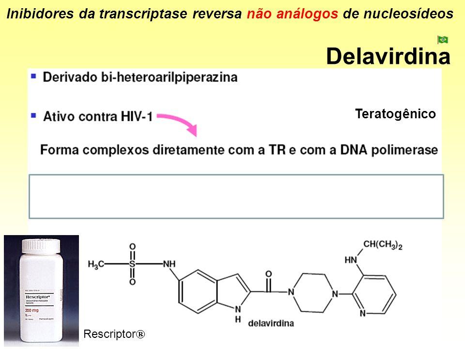 Inibidores da transcriptase reversa não análogos de nucleosídeos