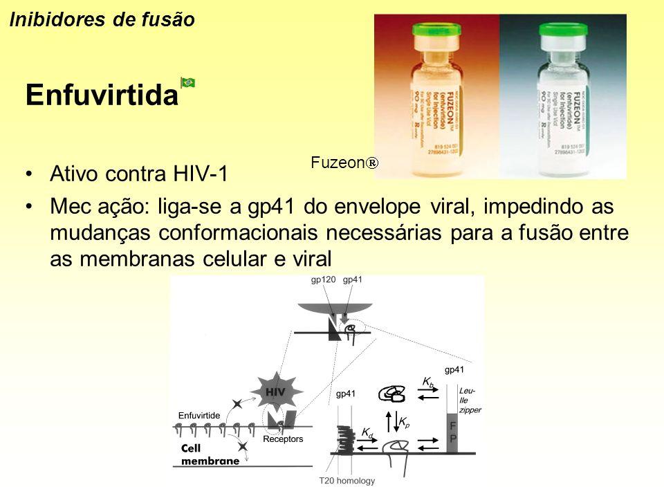 Enfuvirtida Ativo contra HIV-1