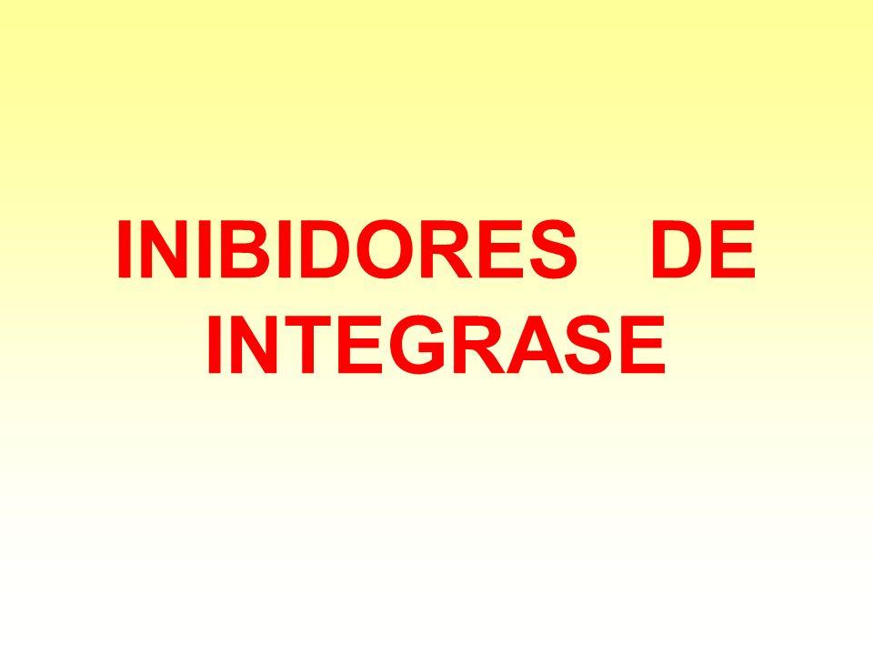 INIBIDORES DE INTEGRASE