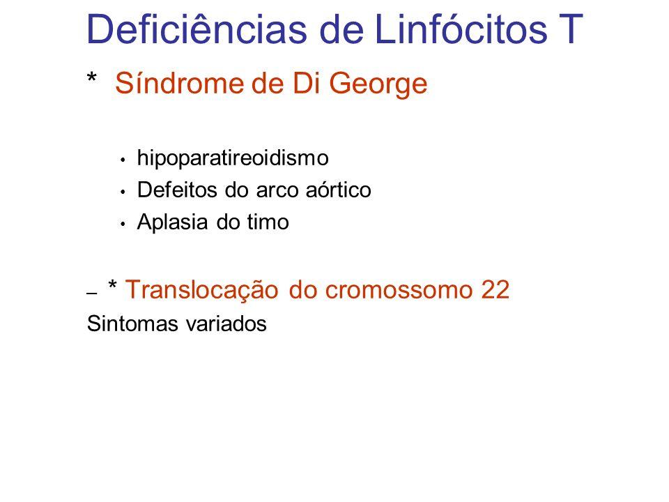 Deficiências de Linfócitos T