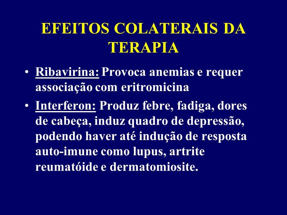 EFEITOS COLATERAIS DA TERAPIA