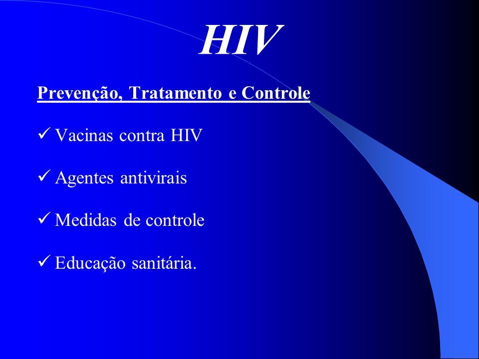 HIV Prevenção, Tratamento e Controle Vacinas contra HIV