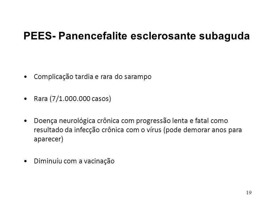 PEES- Panencefalite esclerosante subaguda
