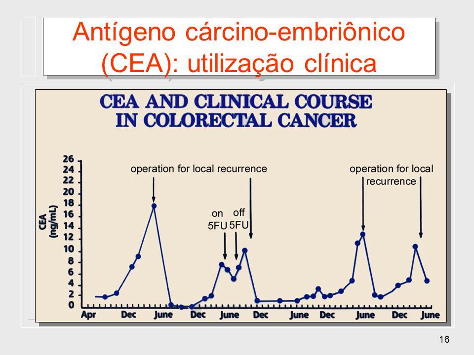 Antígeno cárcino-embriônico (CEA): utilização clínica