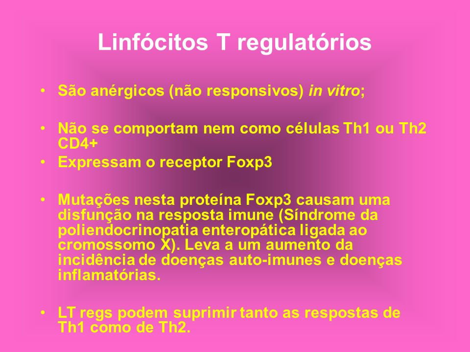 Linfócitos T regulatórios