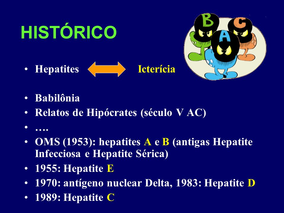 HISTÓRICO Hepatites Icterícia Babilônia