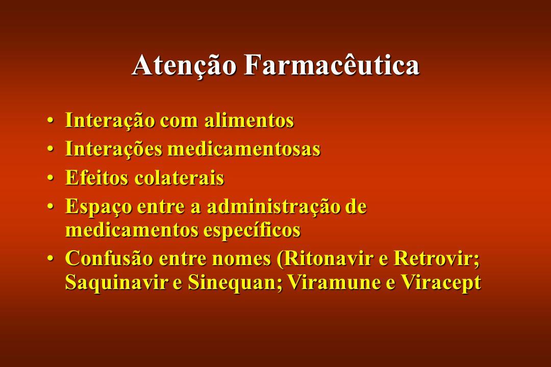 Atenção Farmacêutica Interação com alimentos Interações medicamentosas