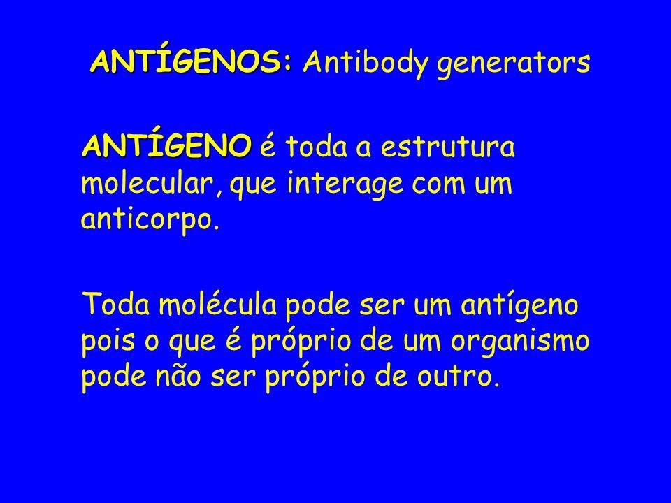 ANTÍGENOS: Antibody generators