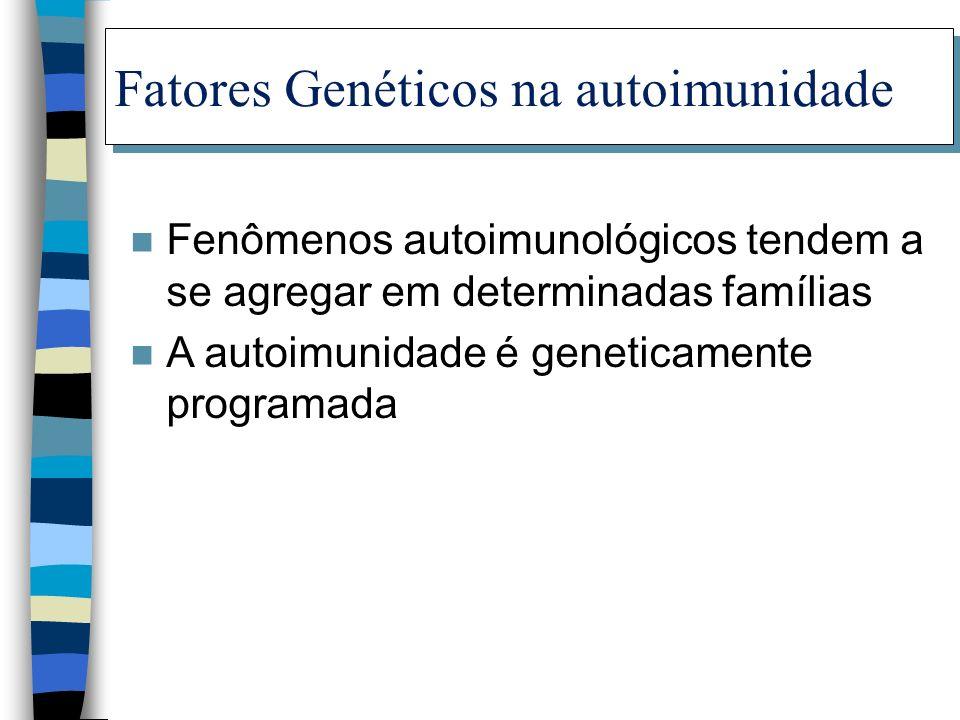 Fatores Genéticos na autoimunidade