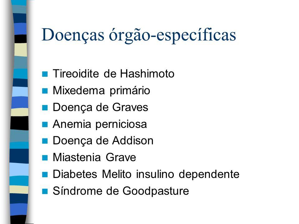 Doenças órgão-específicas