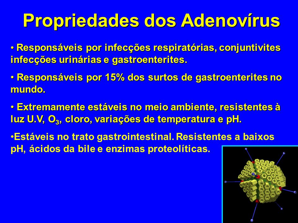 Propriedades dos Adenovírus