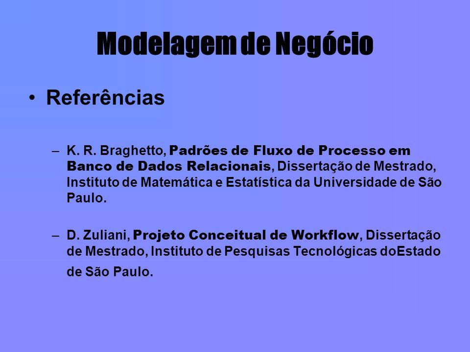 Modelagem de Negócio Referências