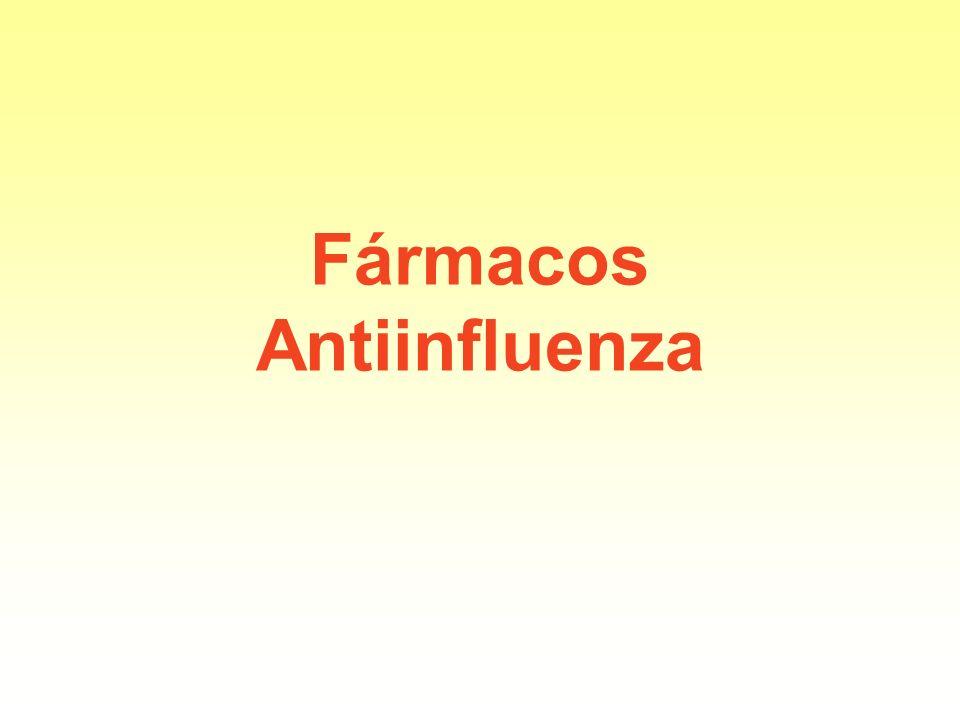 Fármacos Antiinfluenza