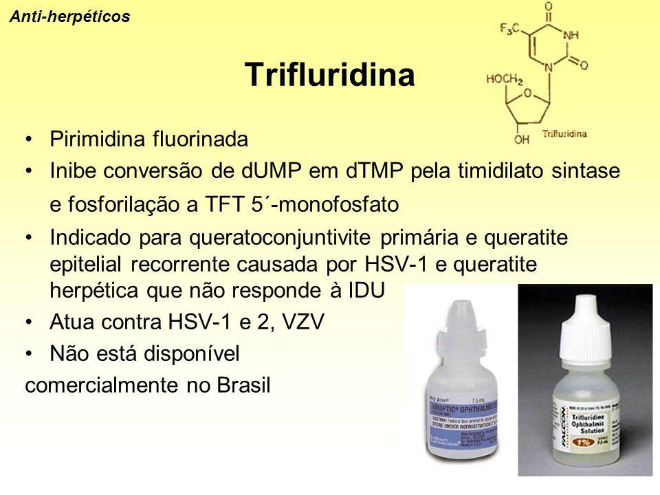 Trifluridina Pirimidina fluorinada