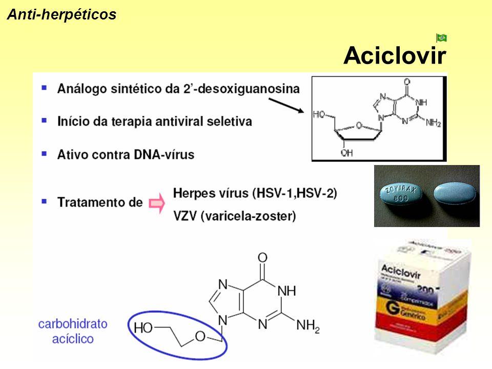 Anti-herpéticos Aciclovir