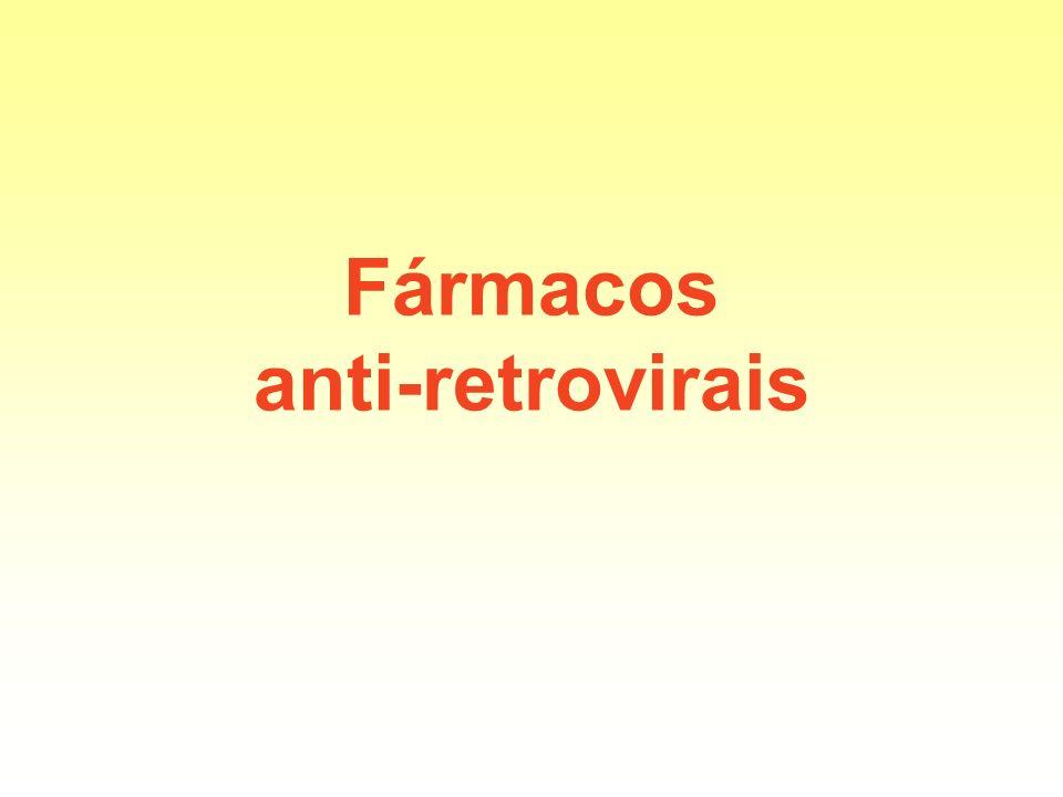 Fármacos anti-retrovirais