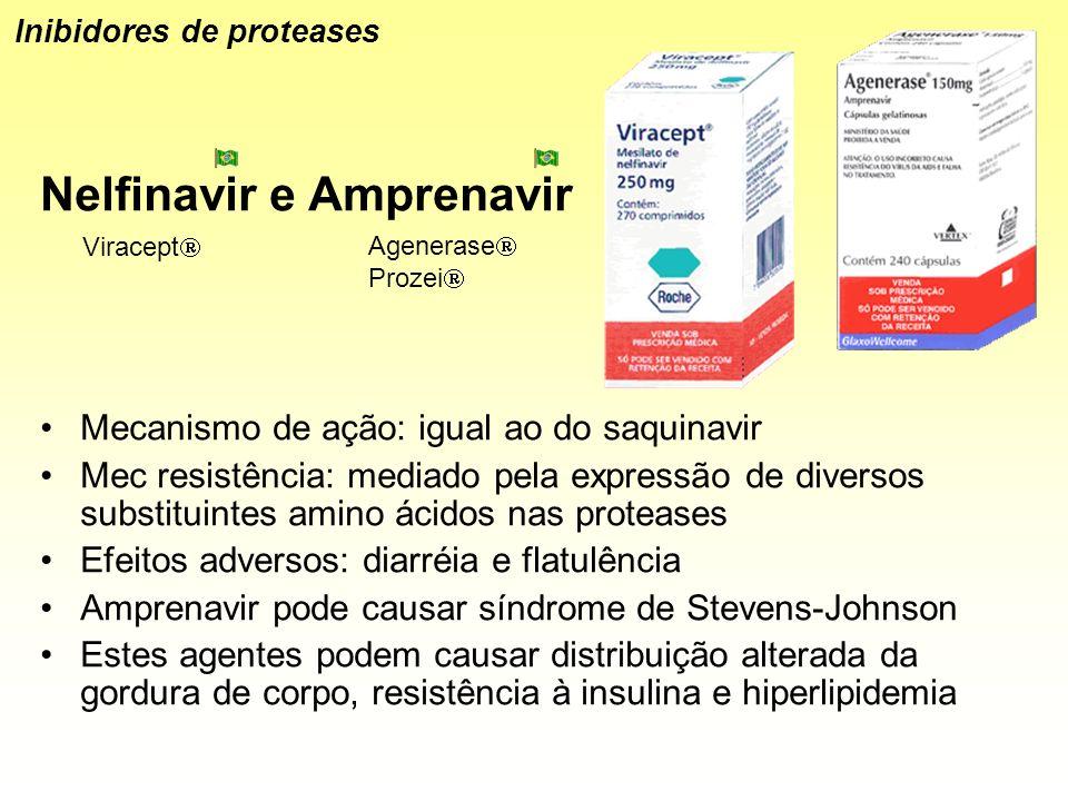 Nelfinavir e Amprenavir