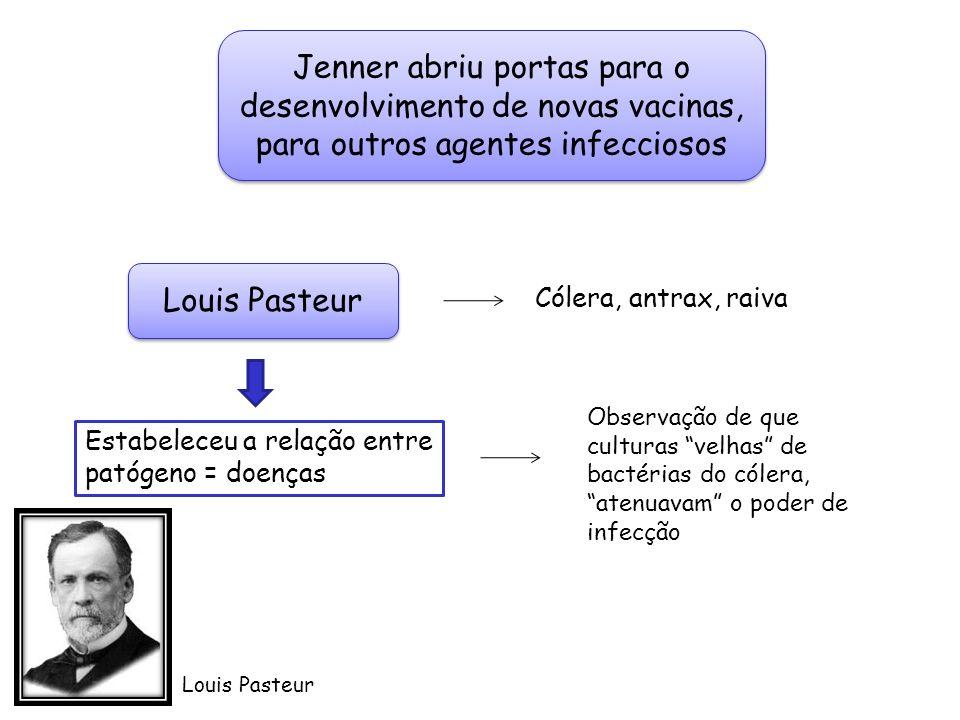 Jenner abriu portas para o desenvolvimento de novas vacinas, para outros agentes infecciosos
