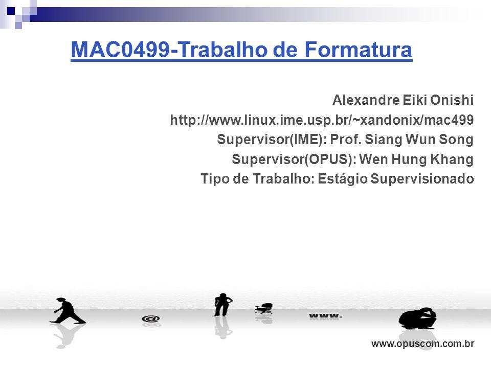 MAC0499-Trabalho de Formatura