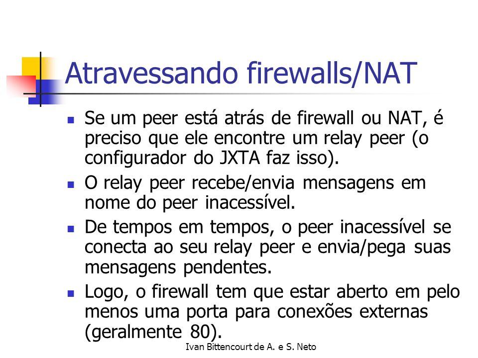 Atravessando firewalls/NAT
