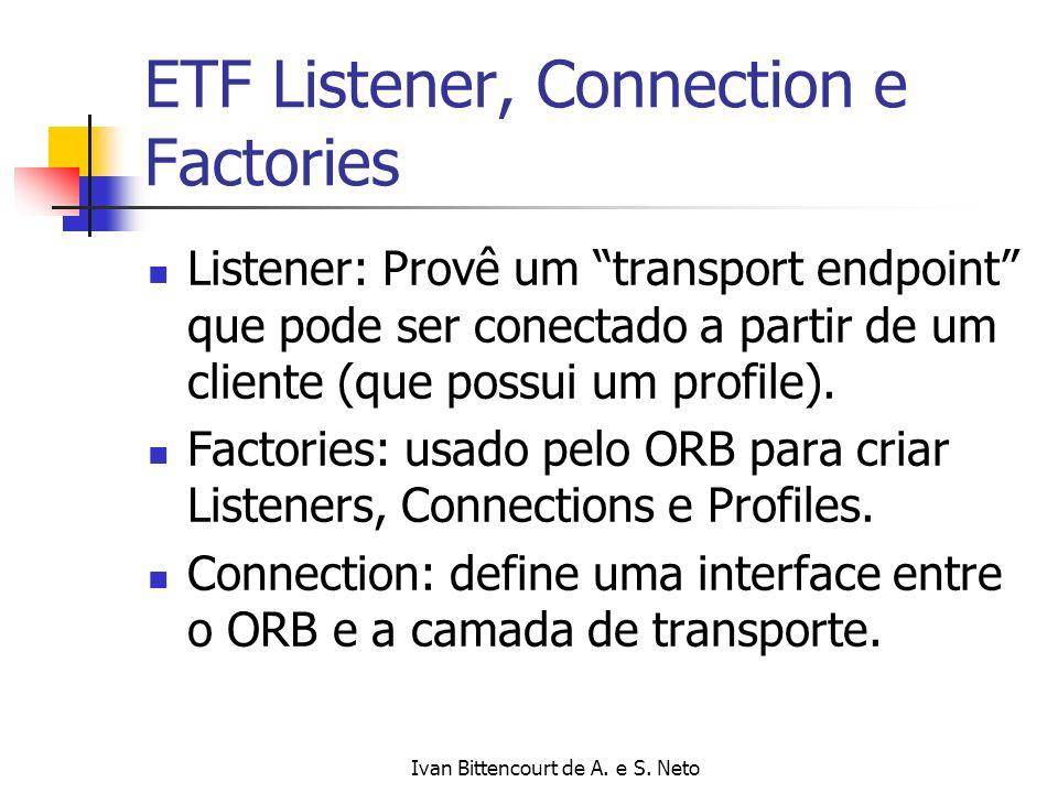 ETF Listener, Connection e Factories