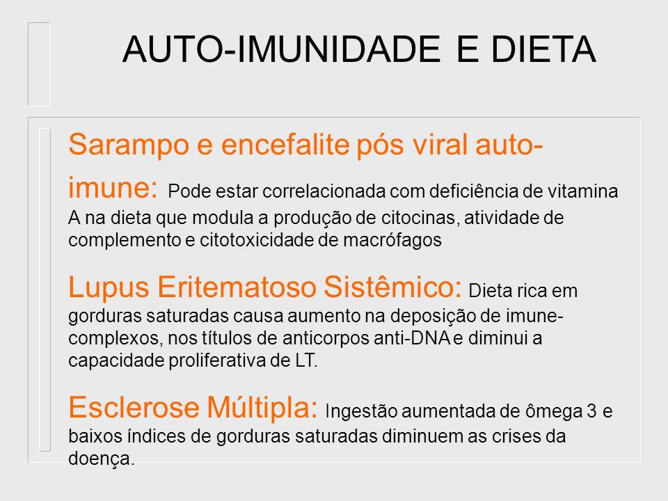 AUTO-IMUNIDADE E DIETA