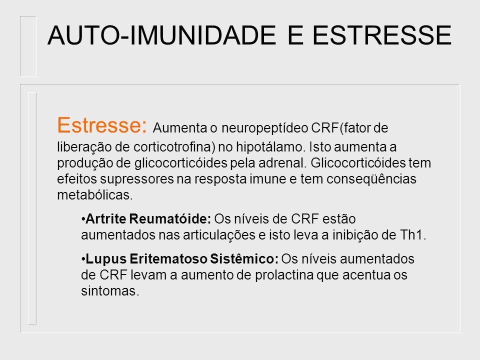 AUTO-IMUNIDADE E ESTRESSE